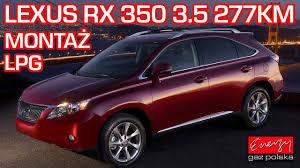 lexus gs 450h lpg montaż lpg lexus rx 350 z 3 5 277km 2011r w energy gaz polska na