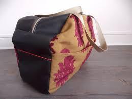 patron sac cuir gratuit les aiguilles d u0027amandine patron et tutoriel couture grand sac