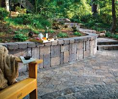Hardscape Designs For Backyards - garden shady backyard ideas alongside stacked stone edging and