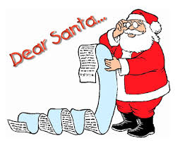 wish list oh santa santa won t you sit on my a wish list of sorts