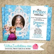 Custom Invites Custom Frozen Invitations Stephenanuno Com