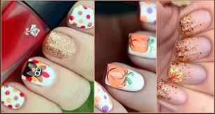 Nail Art Thanksgiving 25 Pretty Thanksgiving Nail Art Designs For 2016