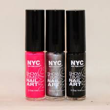a little polish nyc show time nail art review