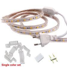 waterproof led ribbon lights 110v 220v waterproof led strip 5050 smd flexible ribbon tape