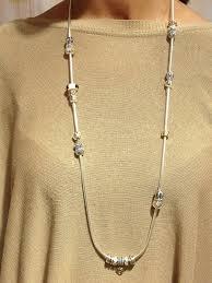necklace pandora charm images Pandora got an overload of bracelets clip them together for a jpg