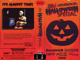 the horrors of halloween jbtv halloween special vhs cover art