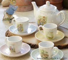 wedgwood rabbit tea set vintage wedgwood rabbit favorite child s tea set