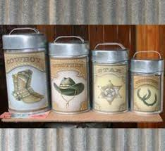 western kitchen canisters las chicas tallercito aprender manualidades es facilisimo