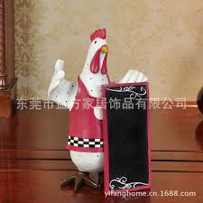 kitchen bulletin board ideas c europe and home style taste resin rooster chef kitchen