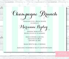 chagne brunch invitations bridal brunch invitations ryanbradley co