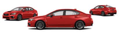 subaru sti 2016 red 2016 subaru wrx awd sti limited 4dr sedan w wing spoiler