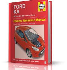 ford ka 09 14 haynes brochure examples vsm tool