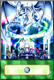 mausoleum of the blue eyes white dragon anime by alanmac95 on