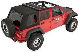 jeep soft top open bestop trektop pro hybrid soft top black twill