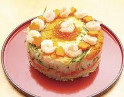 cuisine japonaise recette facile gâteau sushis sushi cake recettes de cuisine japonaise