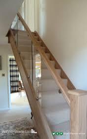 the 25 best oak handrail ideas on pinterest stair lighting