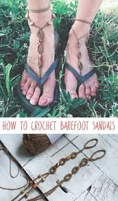 barefoot sandals crochet pattern for barefoot sandals megmade with