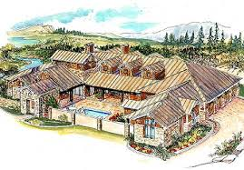 country home plans one plan 16375md striking hill country home with courtyard guest