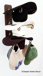 amazon com american made cowboy hat holder rust with gold stars