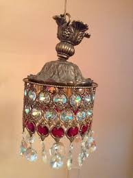 Chandelier Swag Lamp Ll Wmc Loevsky Swag Lamp Prism Crystal Lamps