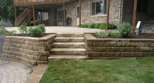 Retaining Wall Patio Design Patio Retaining Wall Ideas Home Design Ideas And Pictures