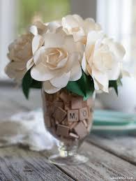 metallic paper gardenia gardenia bouquet gardenias and diy paper