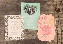 wedding invitations ni laser cut wedding invitations northern ireland day print