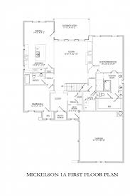the mickelson 1a floor plan signature homes