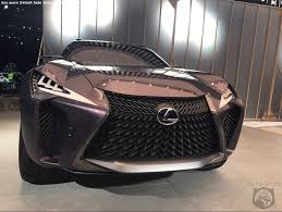 lexus ux spied naias world exclusive spies get you into detroit auto show one