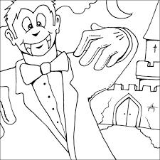 vampire coloring