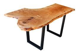 live edge table chicago live edge cherry desk by elko hardwoods chicago il live edge