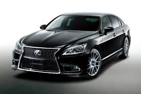lexus parts plus trd launches new styling parts for latest lexus ls f sport in japan