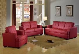 Red Chairs For Living Room by Beverly Fine Furniture Cecilia Configurable Living Room Set