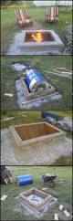 diy fire pit with custom cap stone diy fire pit outdoor spaces