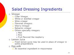 salads and salad dressings ppt video online download