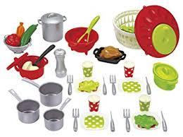 jeux de cuisine pro écoiffier 7600002621 set de cuisine pro cook amazon fr jeux