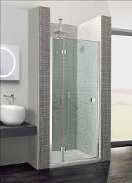 bi fold shower door hinges design hinged door with inline panel 1100mm