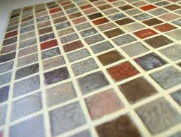Self Adhesive Wallpaper by Amazon Com Multi Color Tile Mosaic Pattern Contact Paper Self