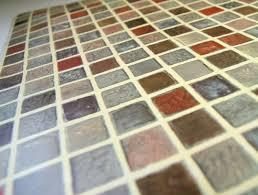 Self Adhesive Wallpaper Amazon Com Multi Color Tile Mosaic Pattern Contact Paper Self