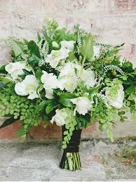 wedding flowers greenery the prettiest greenery bouquets we ve seen