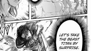 who is the beast titan snk aot mmv levi ackerman vs beast titan youtube