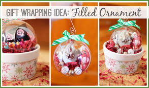 gift wrapping idea filled ornament sugar bee crafts