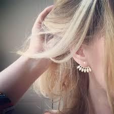 boucle d oreille anti allergique boucles d u0027oreilles eventail