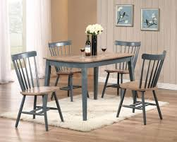 blue dining room set