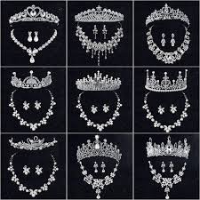 tiara collection hot sale tiara wedding sets hair comb vintage style bridal