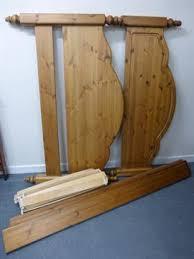 a pine ducal kingsize bed frame 165cms