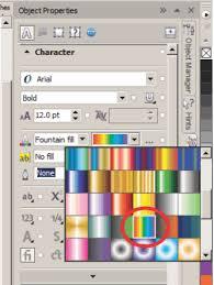 pattern fill coreldraw x6 create a mosaic text effect in coreldraw knowledge base