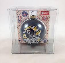 vtg sports collectors series oakland raiders superbowl glass