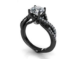 black band engagement rings 62 best engagement rings images on jewelry black