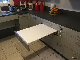 table cuisine escamotable tiroir table cuisine escamotable tiroir 20170715165427 arcizo com